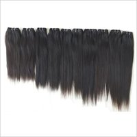 Black Straight Hair , Tangle And Shedding Free