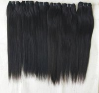 Raw Black Straight hair