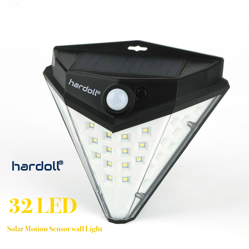 32 Led Solar Motion Sensor  gate wall Lamp