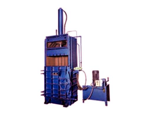 Vertical Single Cylinder Baler Machine