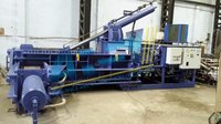 Hydraulic Triple Action Scrap Baler Machine