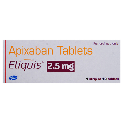 Eliquis 2.5mg Tablet