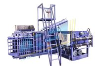 High Density Triple Action Scrap Baling Machine
