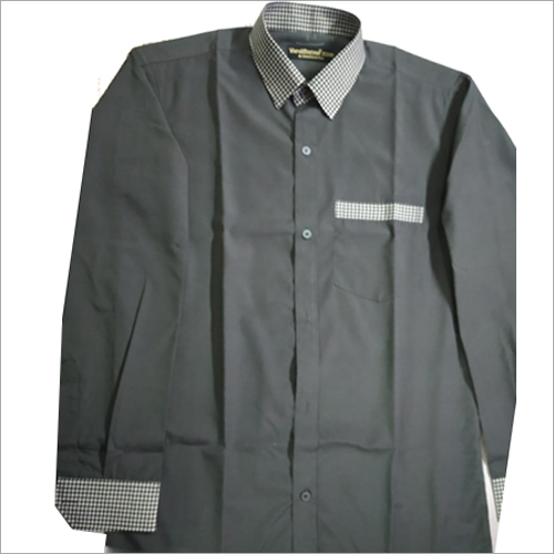 Housekeeping Uniform Grey With Checks Collar