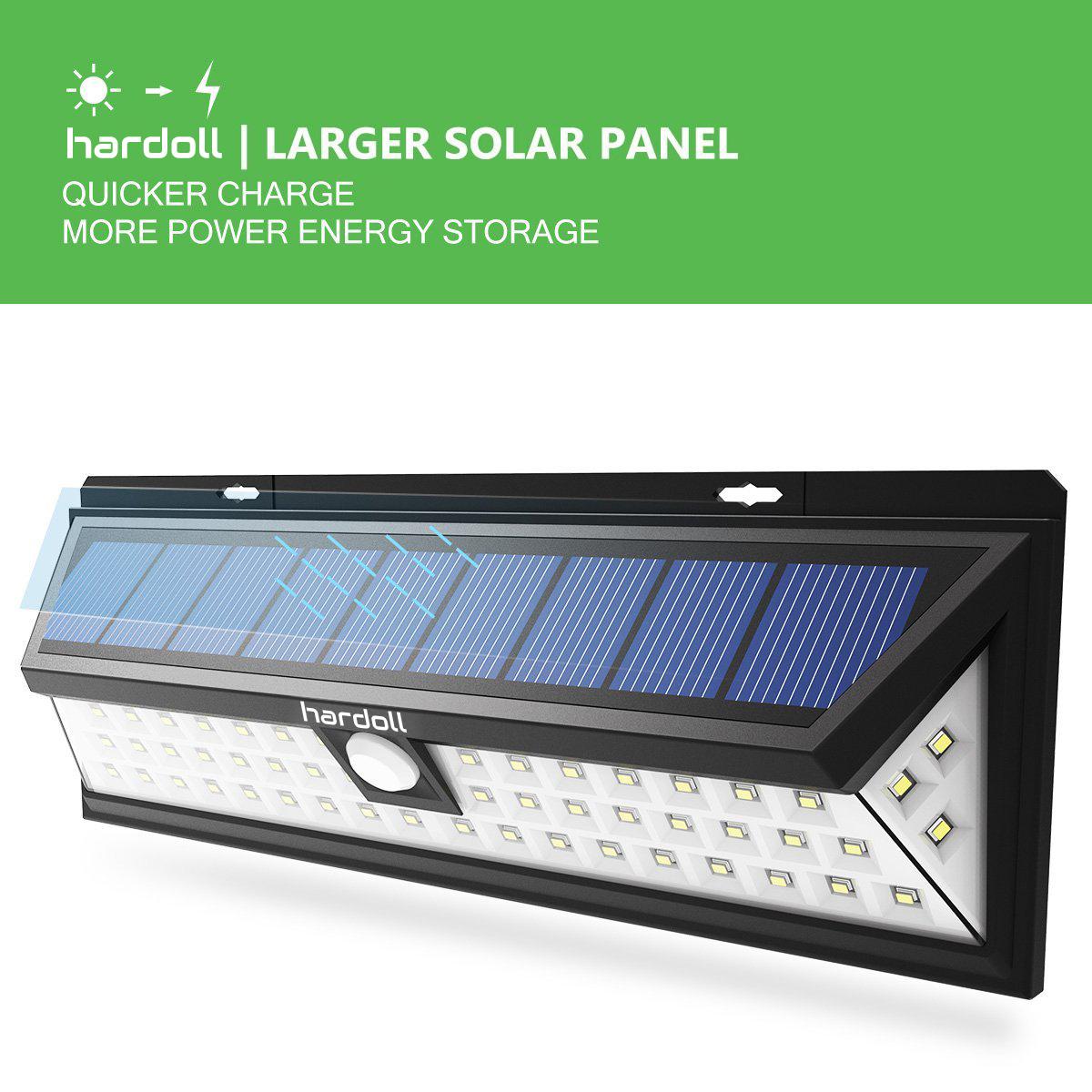 54 Led Solar Motion Sensor Outdoor Lamp