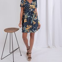 Short Printed Dress Mathilde