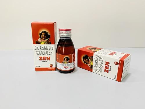 Zinc Acetate eq. to Zinc 20 mg syp