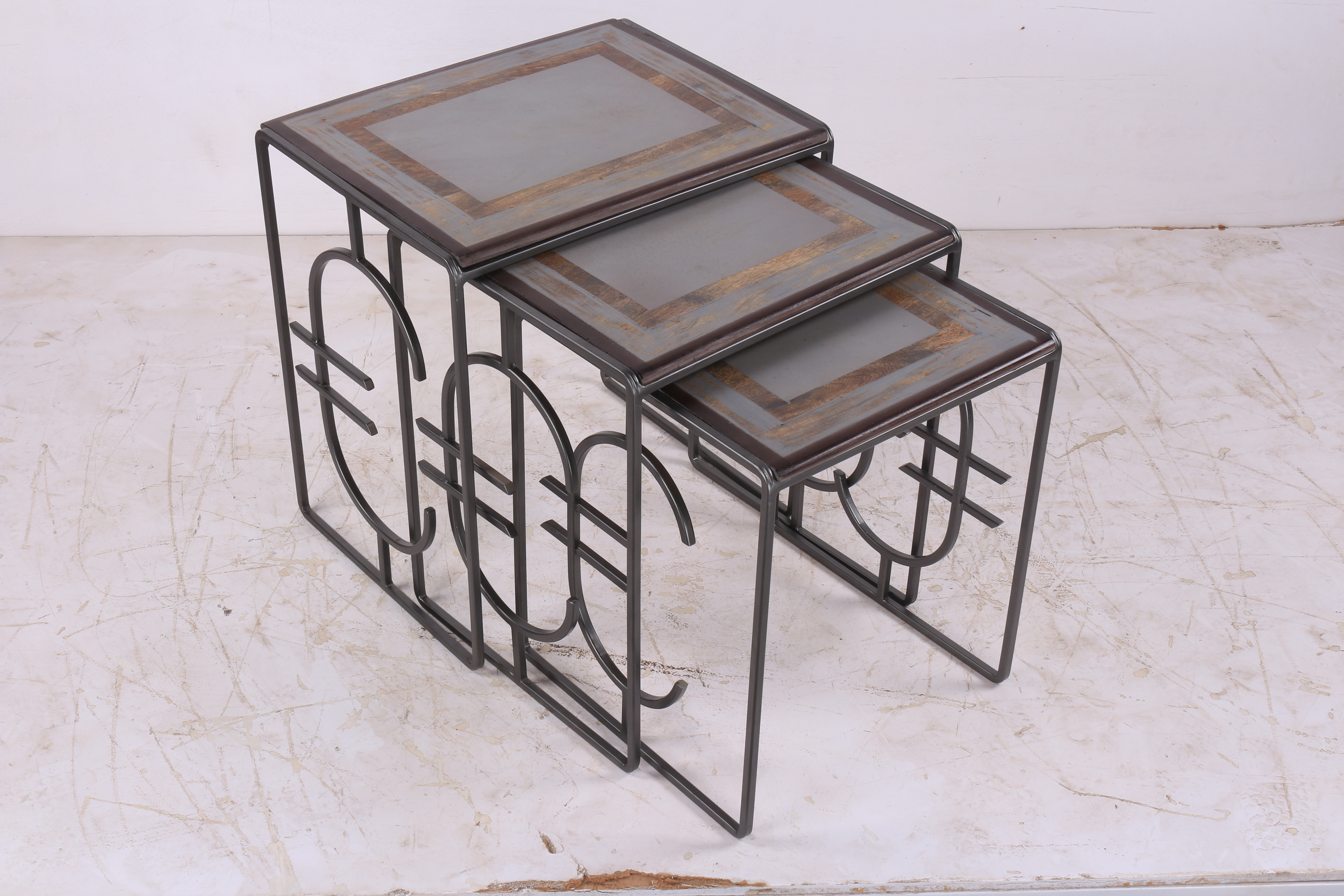 Euro Nesting Tables Set of 3