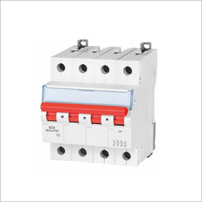 4 Pole Isolators