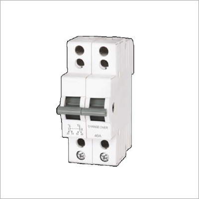 2 Pole MCB Type Changeover Switches