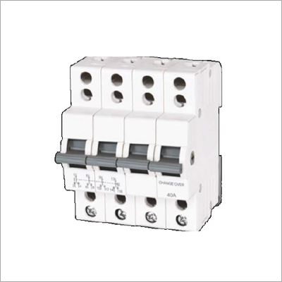 4 Pole MCB Type Changeover Switches