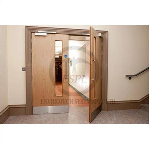 Wooden Acoustic Fire Doors