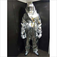 Flame Retardant Aluminised Suit