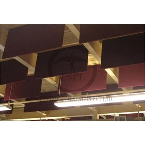 Industrial Acoustic Hanging Baffles