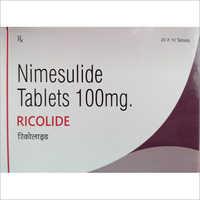 100 MG Nimesulide Tablets
