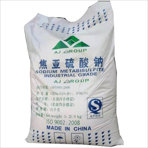 Aj Group Sodium Metabisulphite Powder