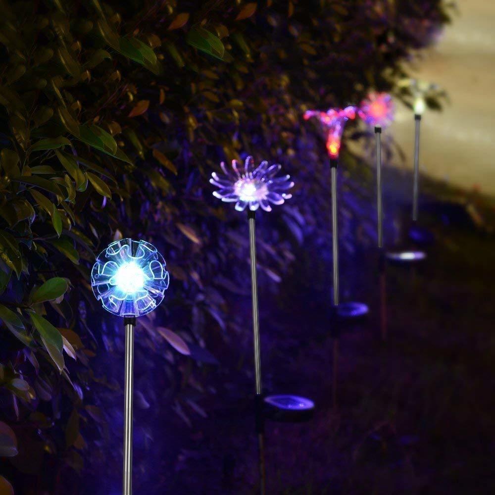 Solar Flower Decoration Stake Lights