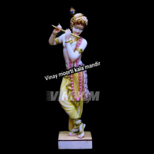 Vietnam Marble Krishna Statue