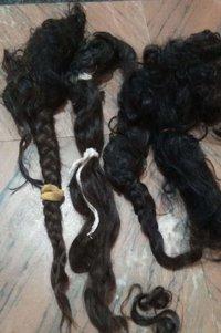 Raw virgin temple hair
