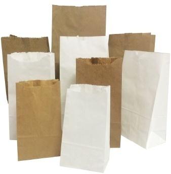 Plain Paper Pouch Bag