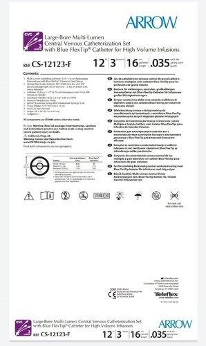 Arrow Triple Lumen hemodialysis kit(CS12123F)