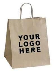 Logo Printed Paper Bag