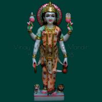Parvati Mata Marble Statue