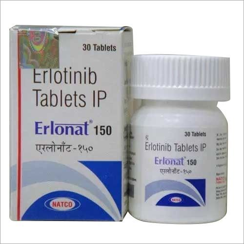 Erlotinib Tablets IP 100mg