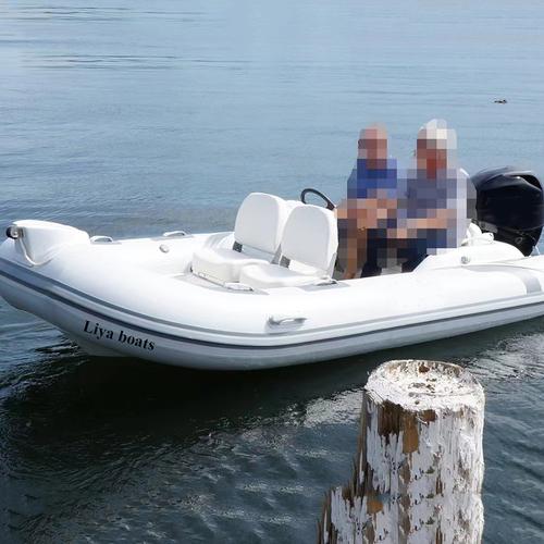 Liya Rib 430 Small Hypalon Fiberglass Hull Rib Boat