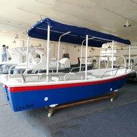 Liya 5.8m/19 Feet Fiberglass Panga Boat Or Passenger Tour Boat