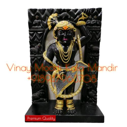 Shrinathji Murti WIth Peethika