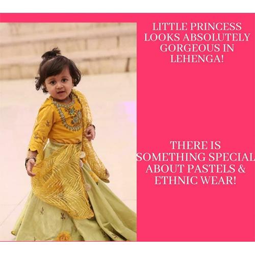 Baby Girl Ethnic Lehenga