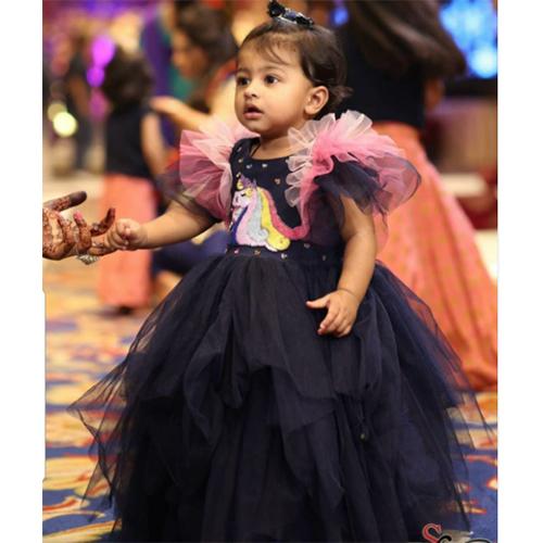 Unicorn Baby Girl Dress