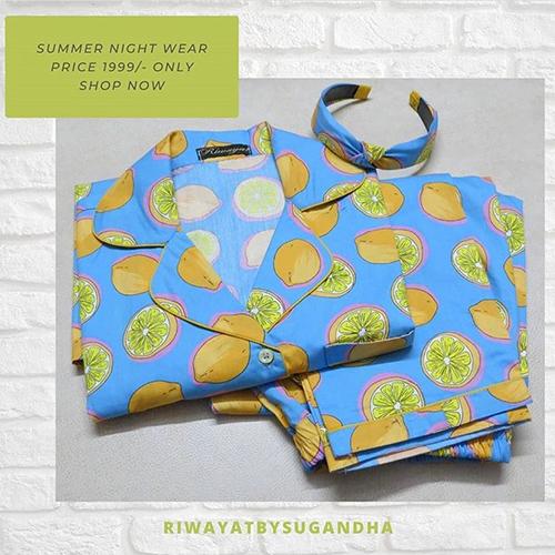 Ladies Summer Night Wear