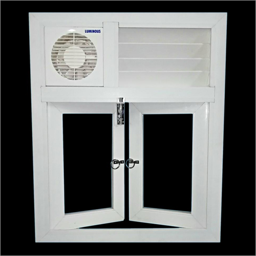 PVC White Window and Ventilator