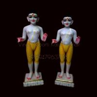 Akshar Purushotam Swaminarayan Marble Statue