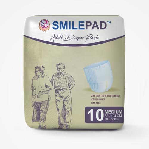 Smilepad Adult Diaper Medium