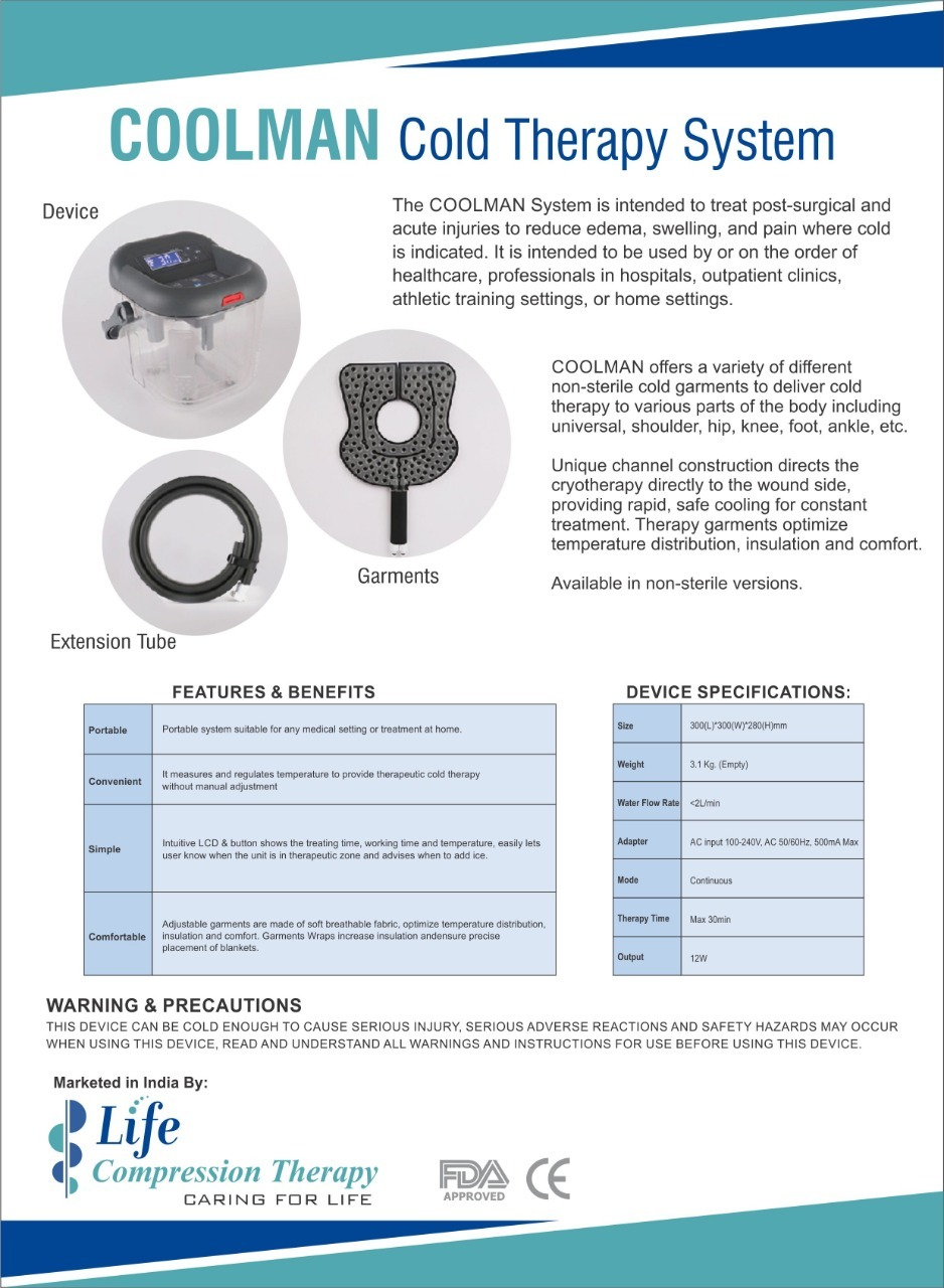 Coolman Cold Therapy System
