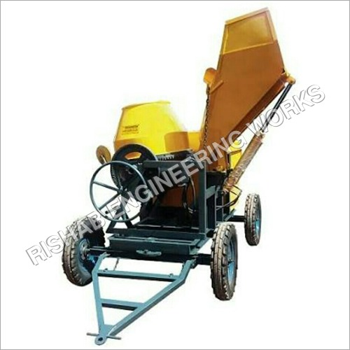 Hopper Concrete Mixer Machine