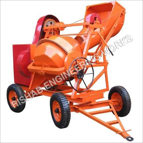 Mechanical Hopper Concrete Mixer Machine