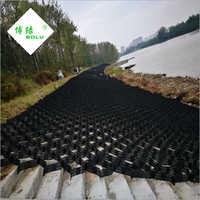 Plastic Road Geocell Honeycomb Gravel Retainer