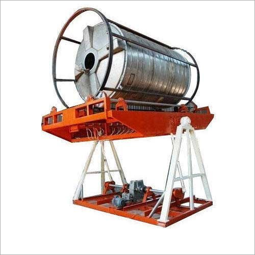 10000 L Open Flame Rock And Roll Rational Moulding Machine