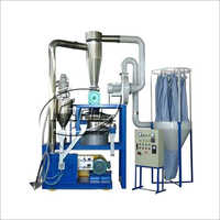 LLDPE Plastic Twin Mill Pulverizer Machine