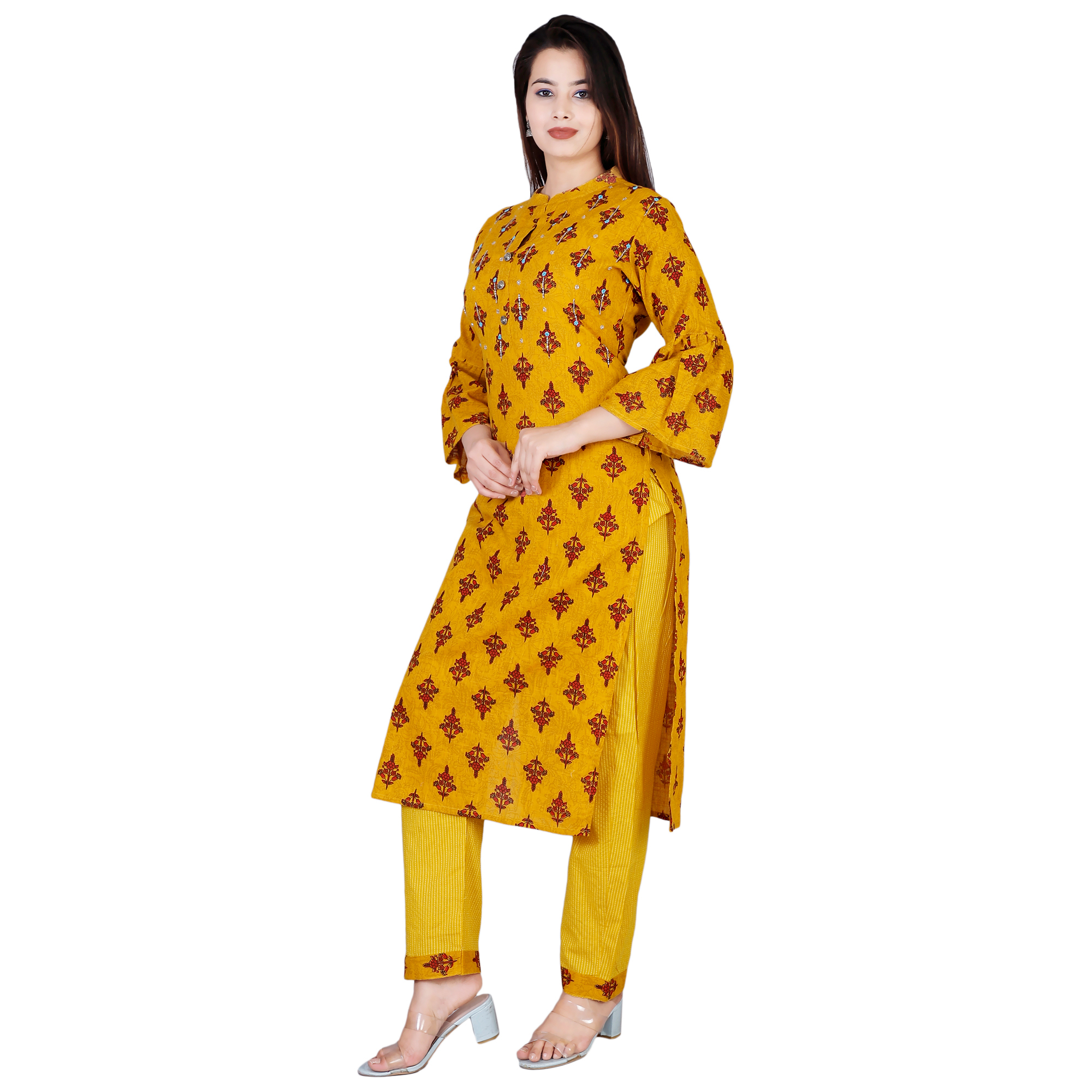 JSC 1137 Printed Cotton Casual Kurti