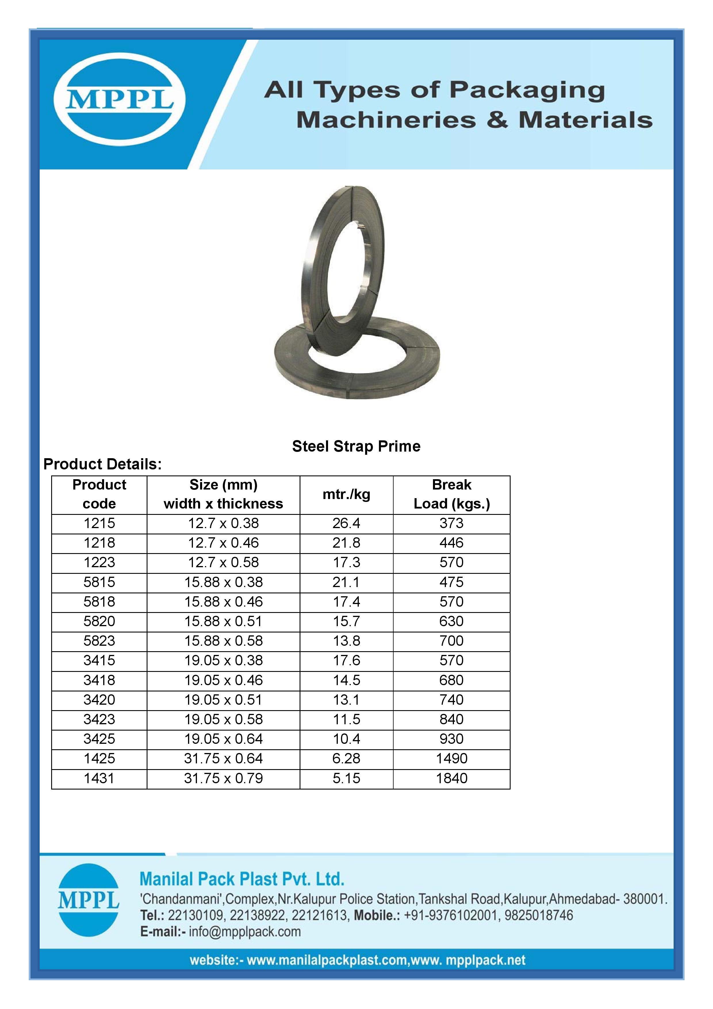 Steel Strap Prime