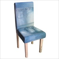 Denim Dining Wooden Chair