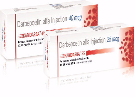 Kabidara 25mcg Darbepoetin Injection