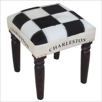 Hairon Chess Pattern Stool