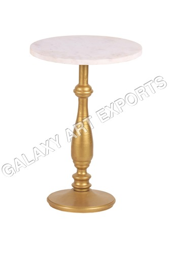 Side Table with Marble Top K. D.