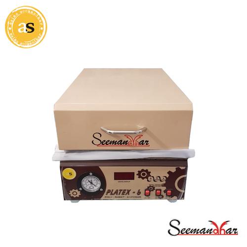 Sheet Polymer Stamp Making Machine